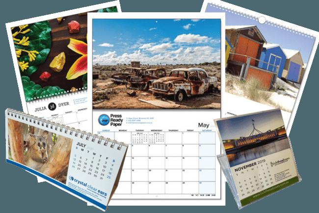 Impressão de calendários personalizados em Salvador